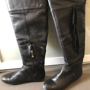 House of Harlow over the knees boots